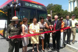 National Mall Route Ribbon Cutting